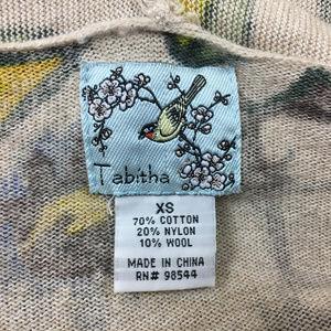 Tabitha Sweaters - P14 Tabitha Floral Cardigan Sweater